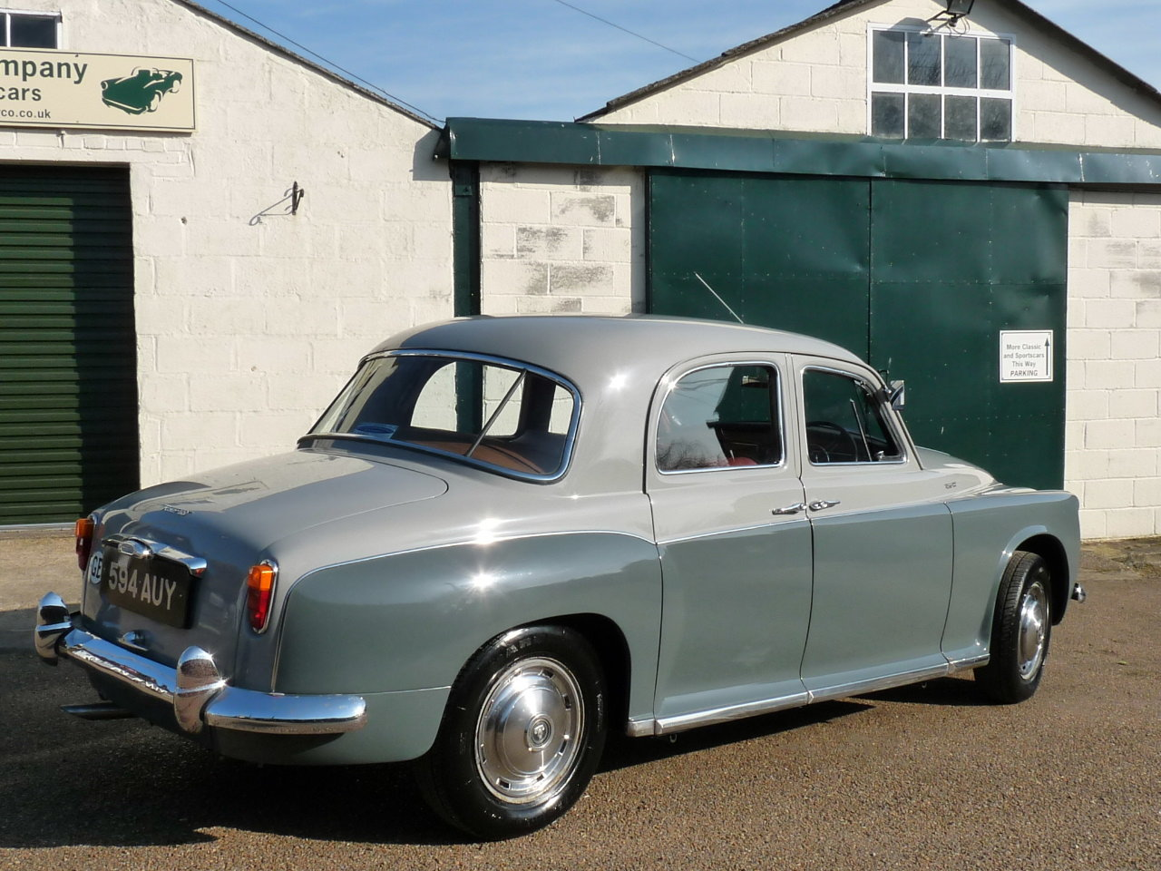 1960 Rover 100 P4, 3.0 litre Rover P5 engine fitted, Sold SOLD (picture 2 of 6)