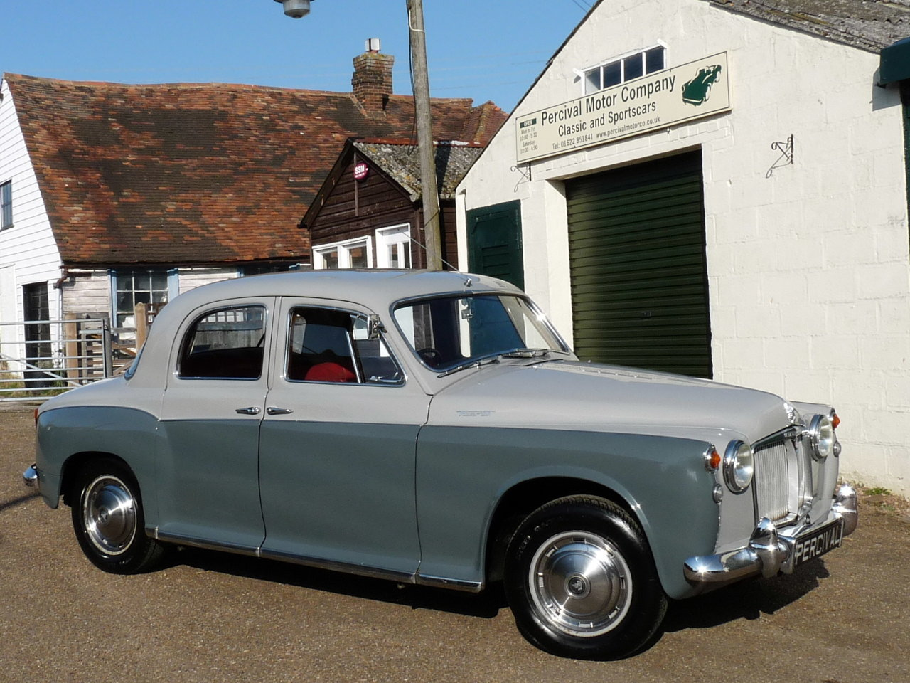 1960 Rover 100 P4, 3.0 litre Rover P5 engine fitted, Sold SOLD (picture 4 of 6)