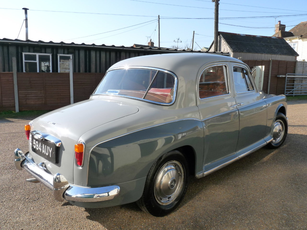 1960 Rover 100 P4, 3.0 litre Rover P5 engine fitted, Sold SOLD (picture 6 of 6)