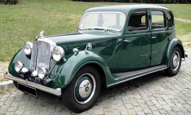 Rover P2 16HP Saloon - 1946 For Sale (picture 1 of 6)