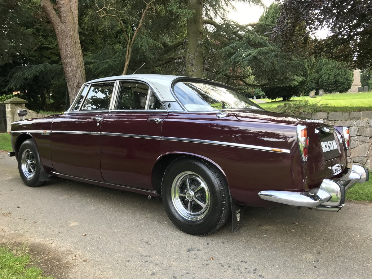 1973 Rover p5b Coupe with 49,900 miles from new!! SOLD (picture 2 of 6)