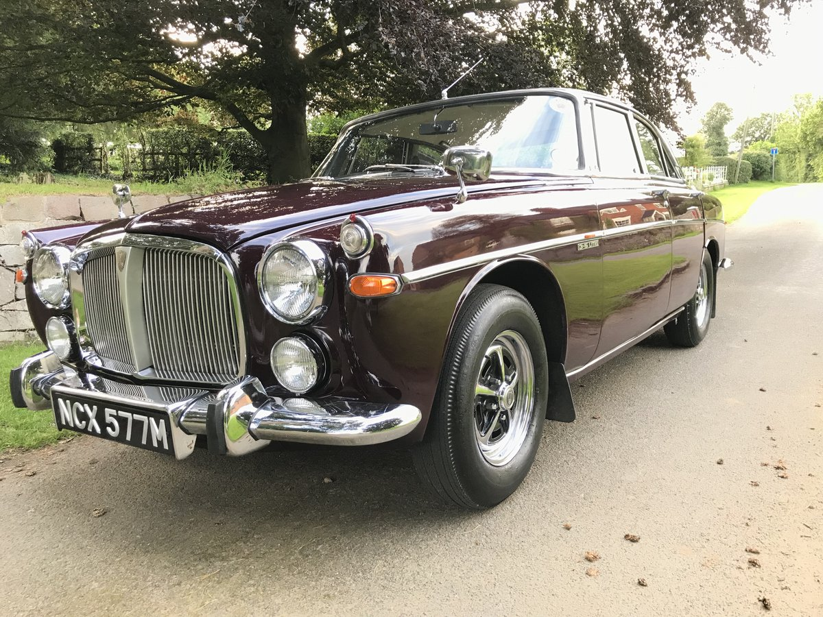 1973 Rover p5b Coupe with 49,900 miles from new!! SOLD (picture 3 of 6)