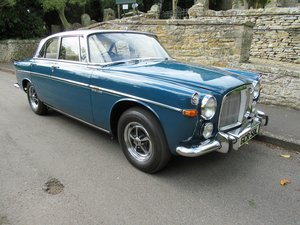 1972 Rover 3.5 Coupe P5B Just 20,403 miles indicated
