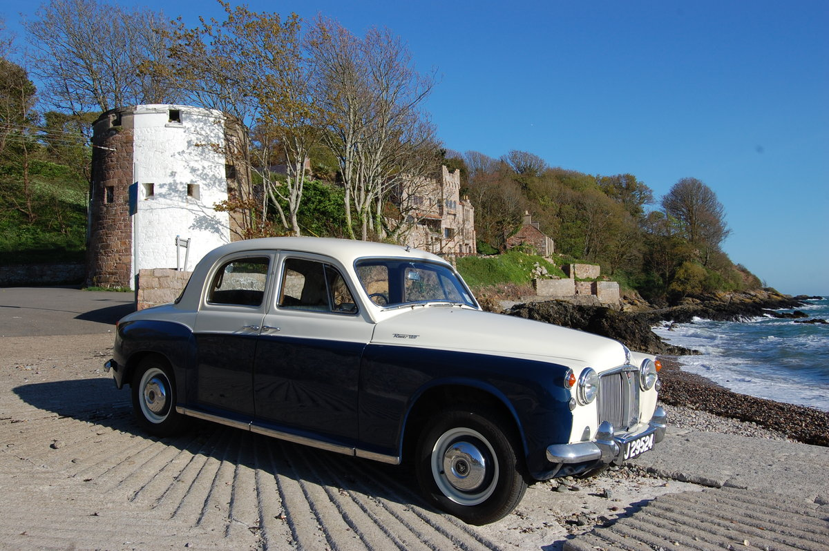 1961 Rover P4 100 from Jersey Classic Hire.Com For Hire (picture 1 of 6)