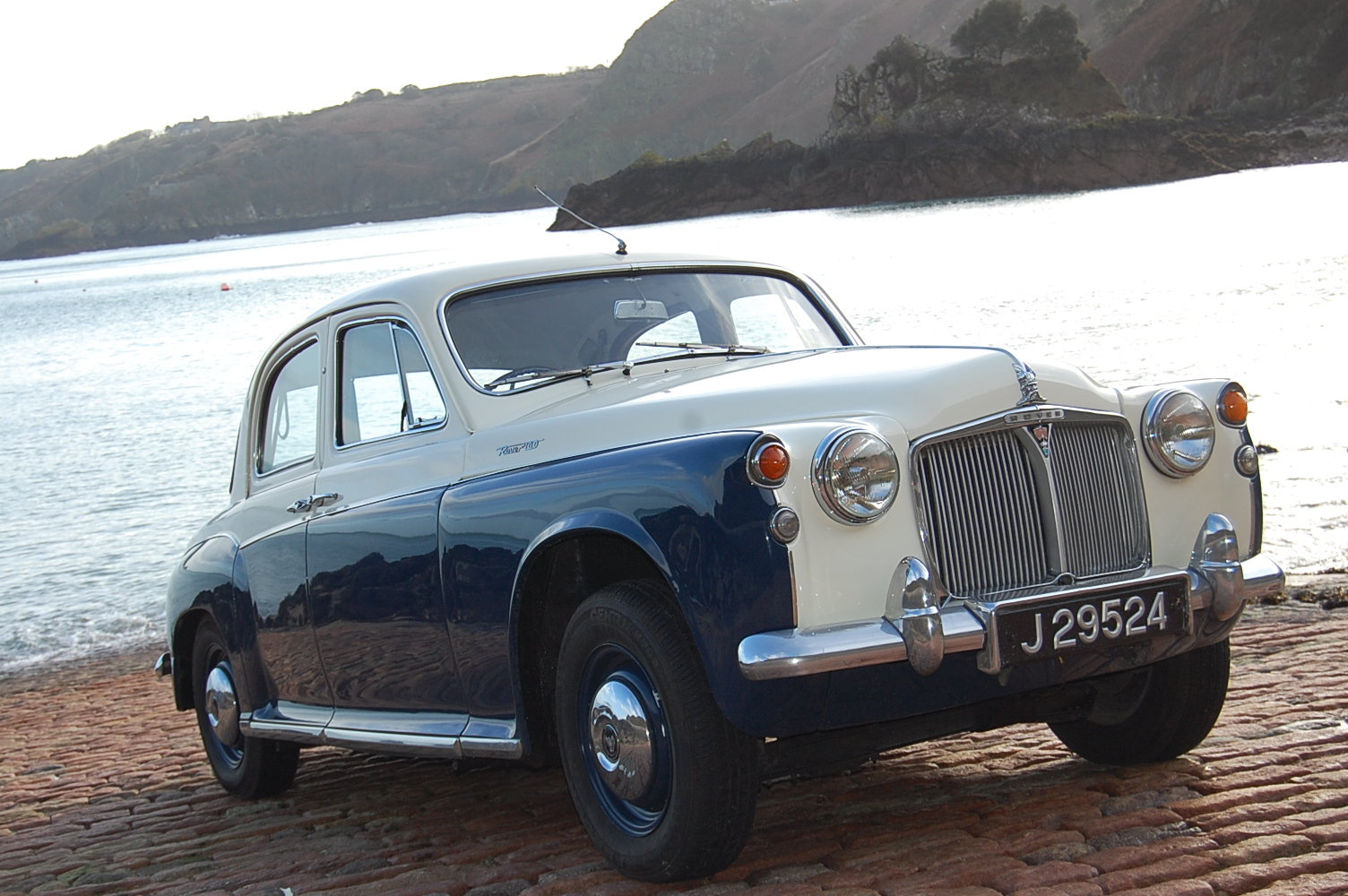 1961 Rover P4 100 from Jersey Classic Hire.Com For Hire (picture 3 of 6)