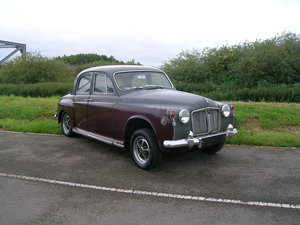 1960 Rover 100 P4 Saloon Restoration Project Low Ownership For Sale