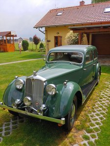 1946 Rover P2/12 Sport Saloon