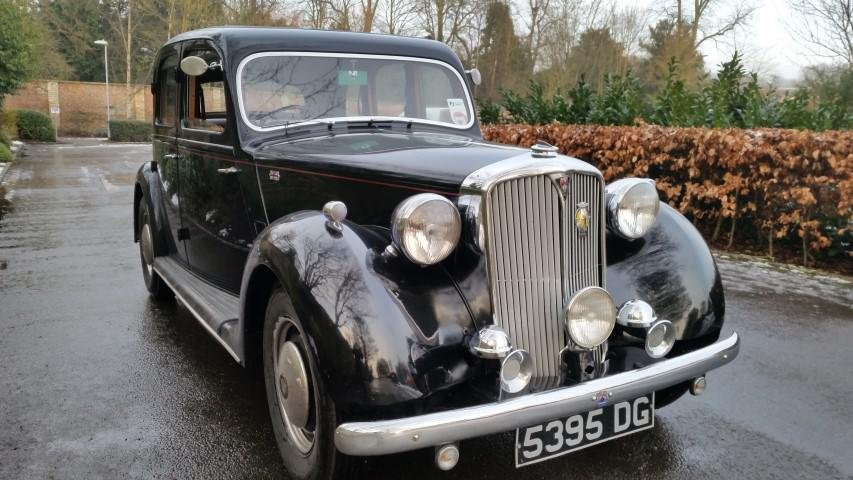 1948 BEAUTIFUL POST-WAR ROVER LUXURY AND POWER SOLD (picture 1 of 6)
