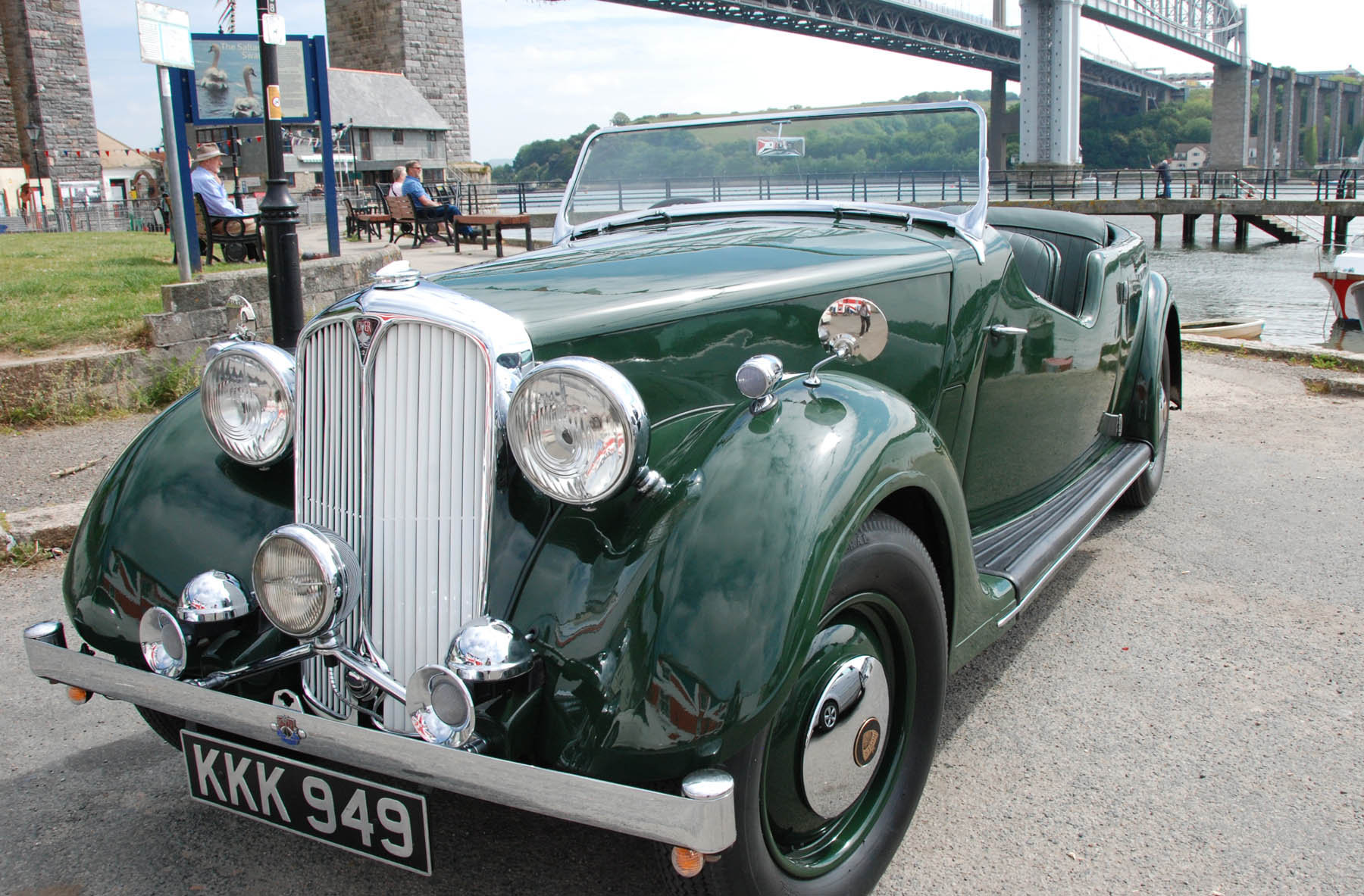 1948 Rover 12 Tourer For Sale (picture 1 of 6)