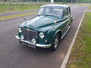 1953 Early Rover P4 75 For Sale