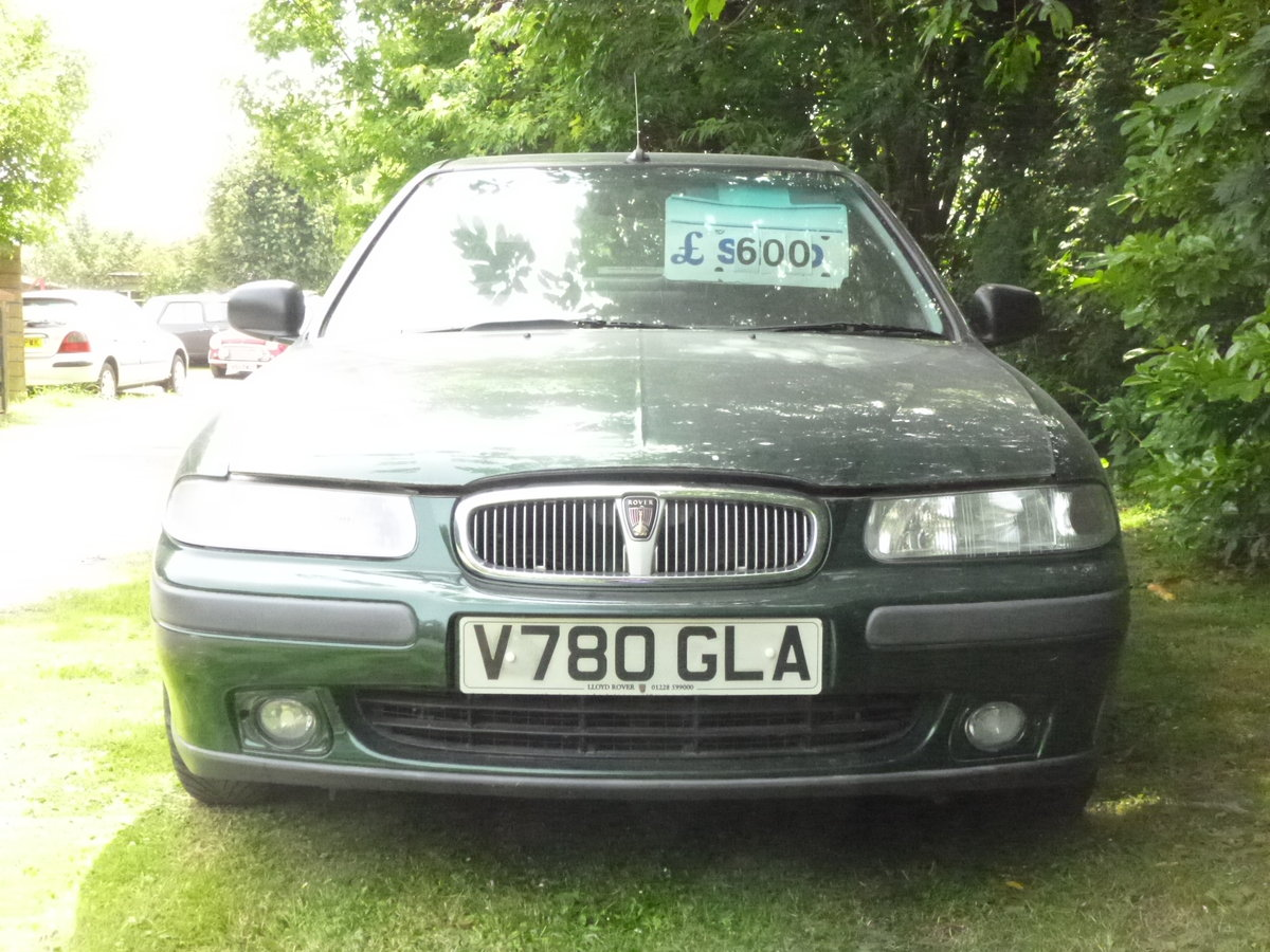 1999 rover 416i cheap car with 12 mths mot For Sale (picture 1 of 6)