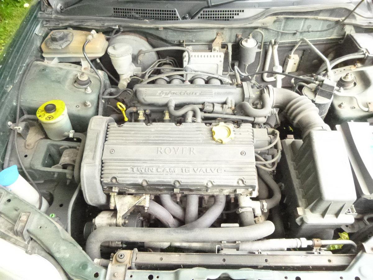 1999 rover 416i cheap car with 12 mths mot For Sale (picture 6 of 6)