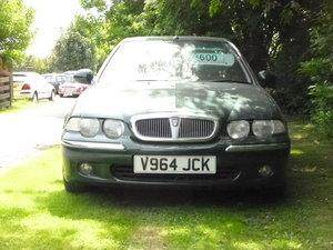 rover 45 club with full mot. inexpensive run around.  For Sale