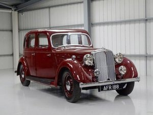 1938 Rover 16hp Saloon For Sale by Auction