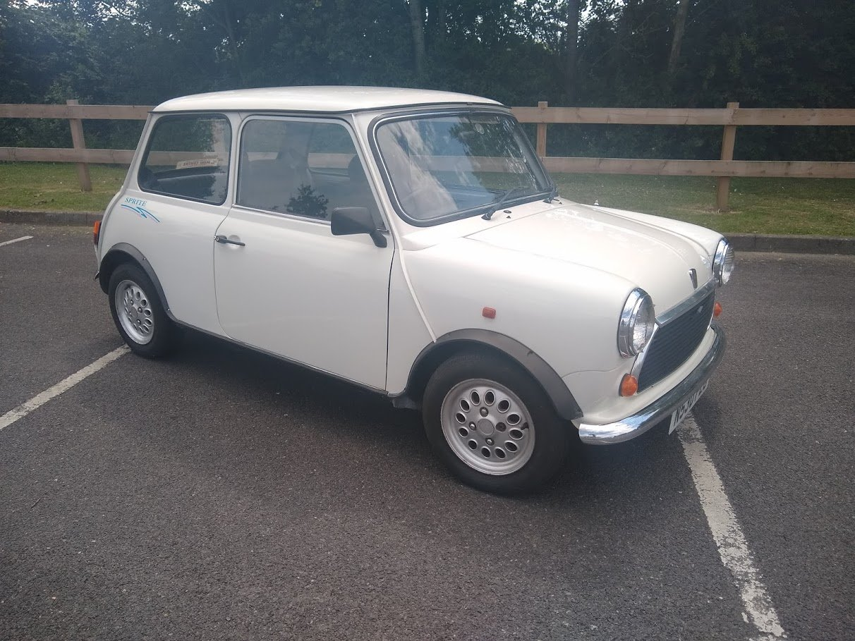 1995 Rover Mini Sprite For Auction Friday 12th July SOLD by Auction (picture 1 of 4)