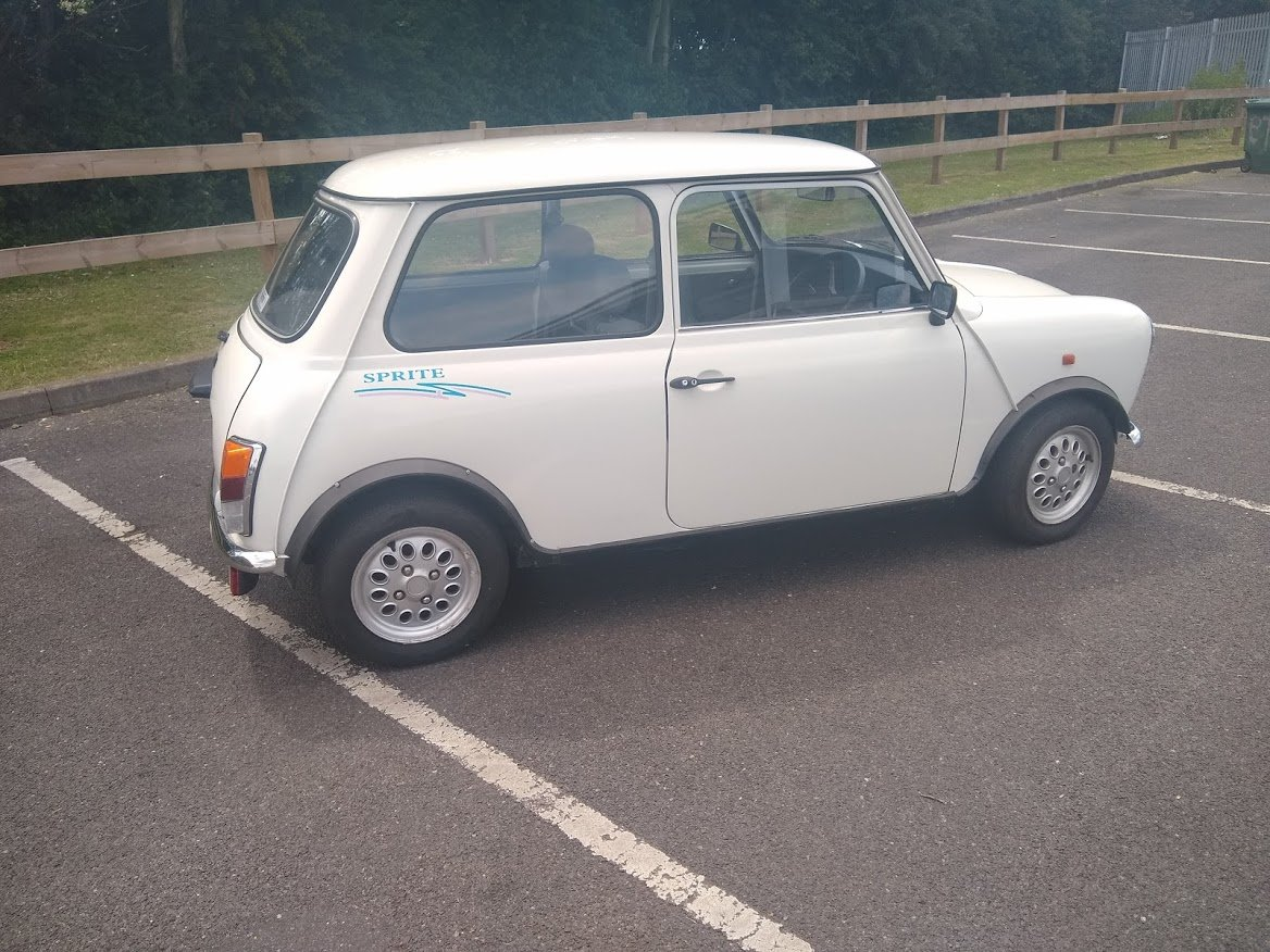 1995 Rover Mini Sprite For Auction Friday 12th July SOLD by Auction (picture 2 of 4)