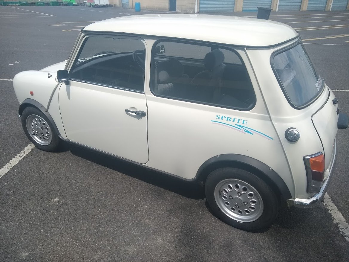 1995 Rover Mini Sprite For Auction Friday 12th July SOLD by Auction (picture 3 of 4)