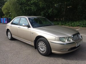 2002 ROVER 75 CONNOISSEUR 2.5 V6 LOW MILEAGE For Sale
