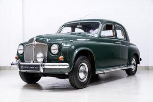 1956 Rover 75 P4 Mille Miglia - A2 FIVA certificate