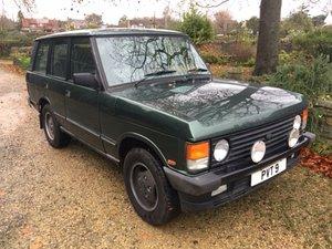 Lot 29 - A 1993 Range Rover Vogue SE - 21/07/2019 For Sale by Auction