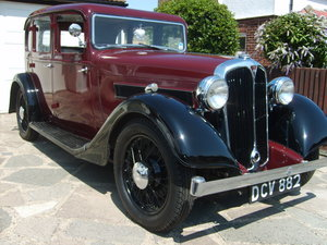 1937 Rover Ten SOLD