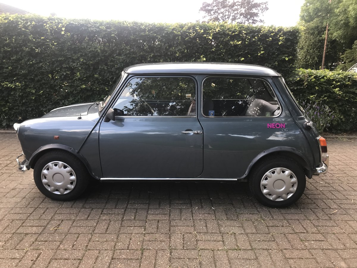 1991 Mini Neon - extremely low milage For Sale (picture 1 of 4)