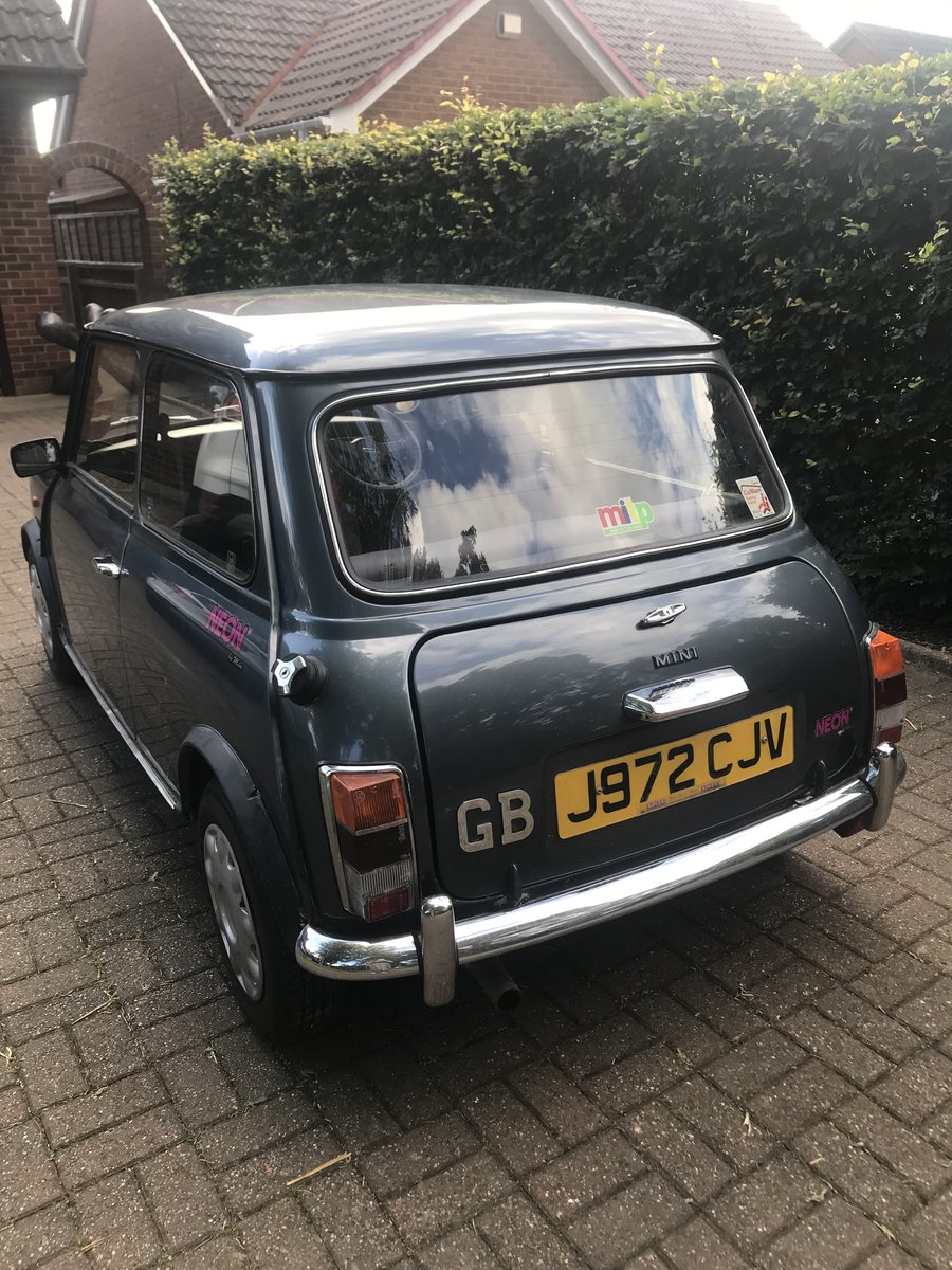 1991 Mini Neon - extremely low milage For Sale (picture 2 of 4)