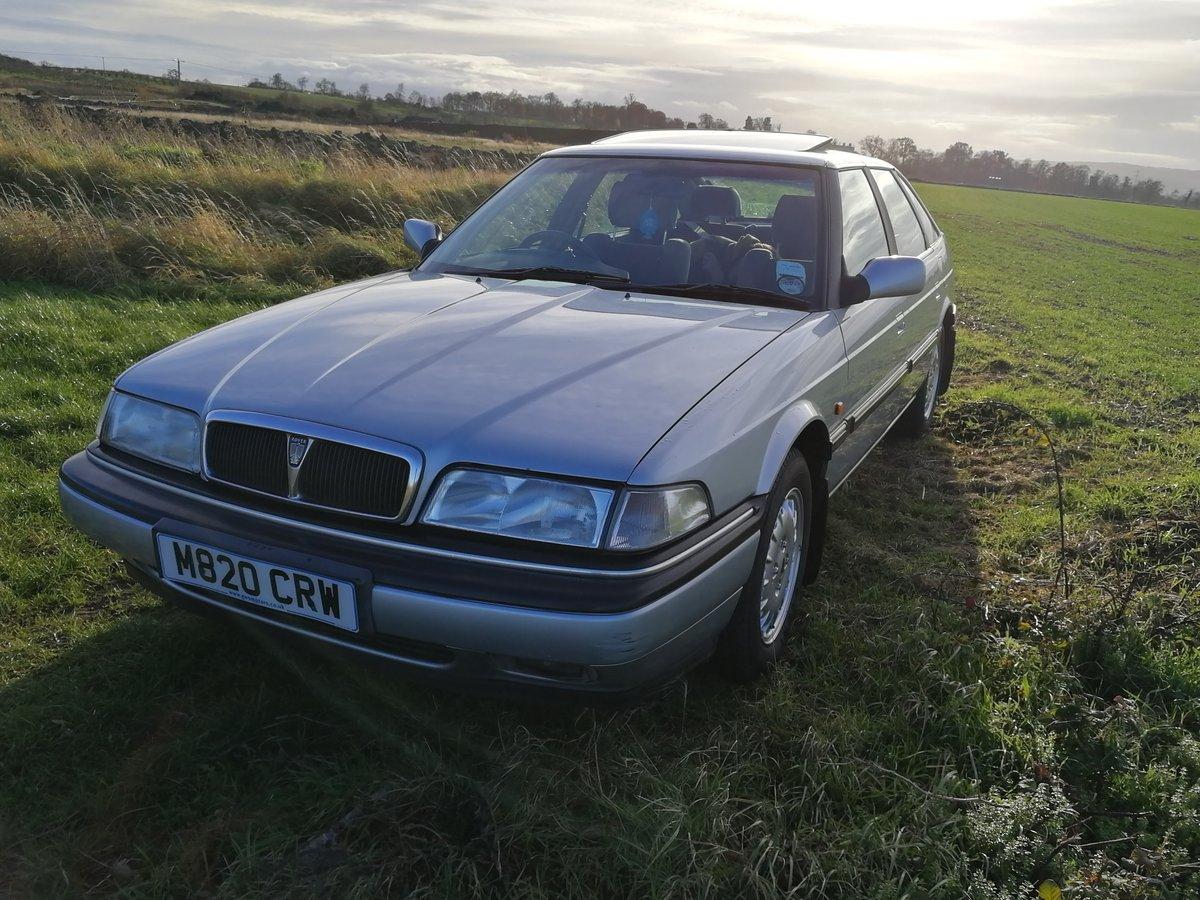 1994 Rare model Rover 820i se For Sale (picture 4 of 6)