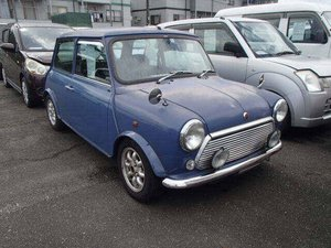 1999 ROVER MINI COOPER 40TH ANNIVERSARY EDITION IN ISLAND BLUE