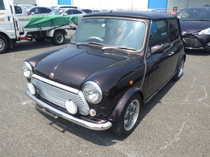 1999 ROVER MINI COOPER 40TH ANNIVERSARY EDITION IN MULBERRY *
