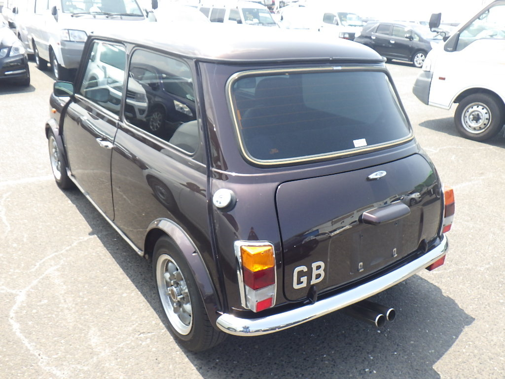 1999 ROVER MINI COOPER 40TH ANNIVERSARY EDITION IN MULBERRY * For Sale (picture 4 of 6)