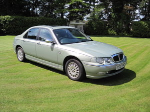 2002 Rover 75 2.5 connoissuer