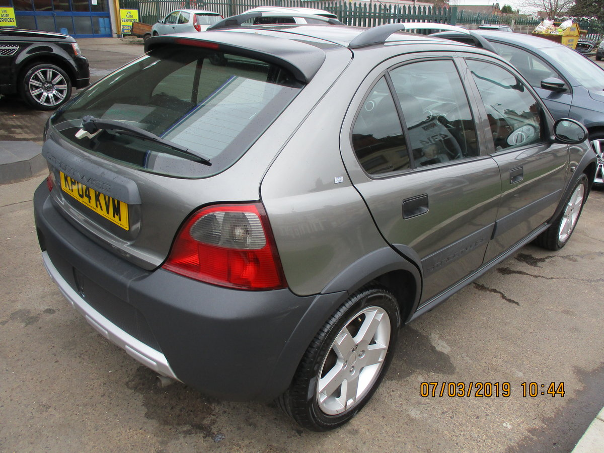 2004 STREETWISE ROVER 25 5 DOOR SMART WITH LOW MILES NEW MOT For Sale (picture 3 of 6)