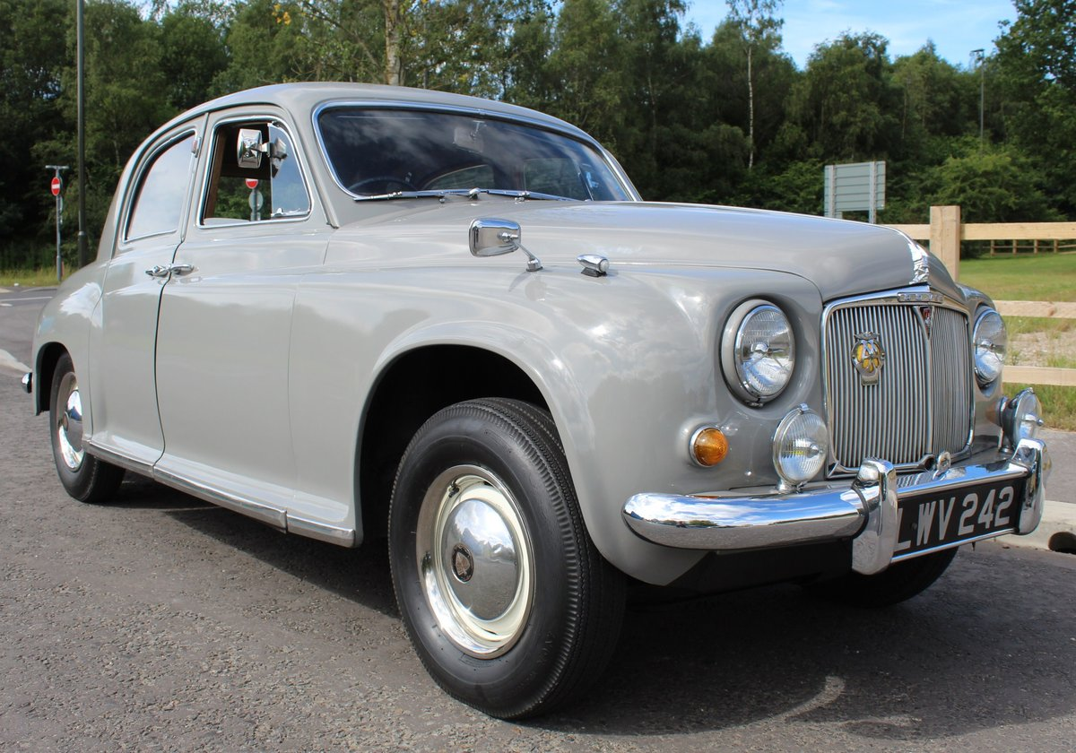 1955 Rover P4 75 Saloon 6 Cylinder Excellent Condition SOLD (picture 1 of 6)