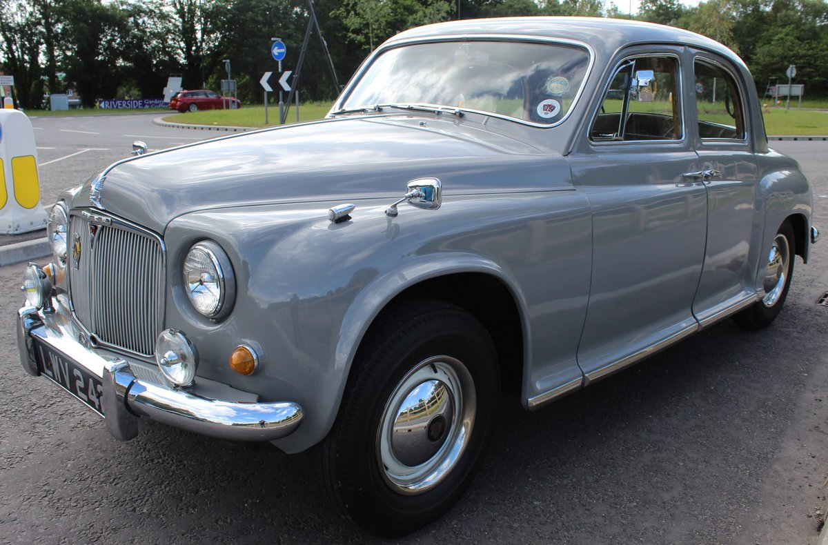 1955 Rover P4 75 Saloon 6 Cylinder Excellent Condition SOLD (picture 3 of 6)