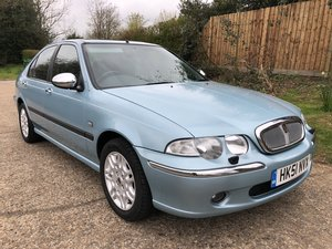 2001 Rover 45 Connoisseur 63,000 Miles FSH For Sale