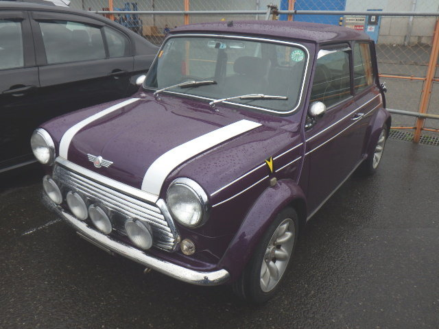 1998 ROVER MINI COOPER SPORTS PACK EDITION * RARE AMETHYST PURPLE For Sale (picture 1 of 6)