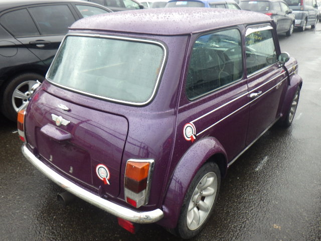 1998 ROVER MINI COOPER SPORTS PACK EDITION * RARE AMETHYST PURPLE For Sale (picture 2 of 6)