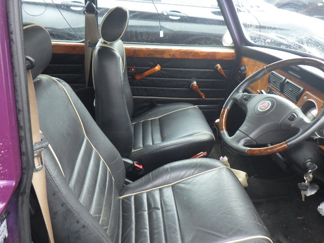 1998 ROVER MINI COOPER SPORTS PACK EDITION * RARE AMETHYST PURPLE For Sale (picture 3 of 6)