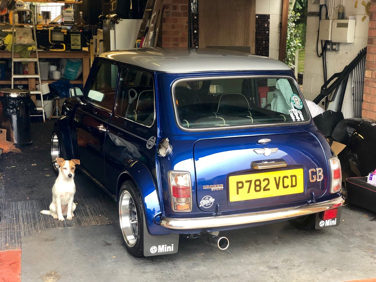 1996 Mini Cooper Sports Pack 1.3i SPI For Sale (picture 4 of 6)