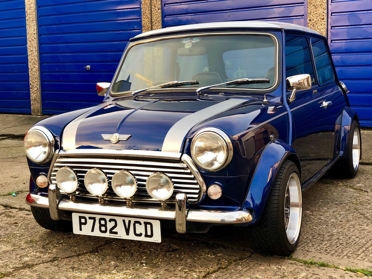 1996 Mini Cooper Sports Pack 1.3i SPI For Sale (picture 5 of 6)