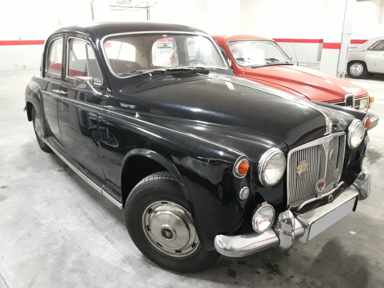 1962 LHD - Rover P4 95 - 2.6L - Only 50.000km. For Sale (picture 1 of 6)