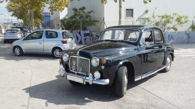 1962 LHD - Rover P4 95 - 2.6L - Only 50.000km. For Sale (picture 2 of 6)