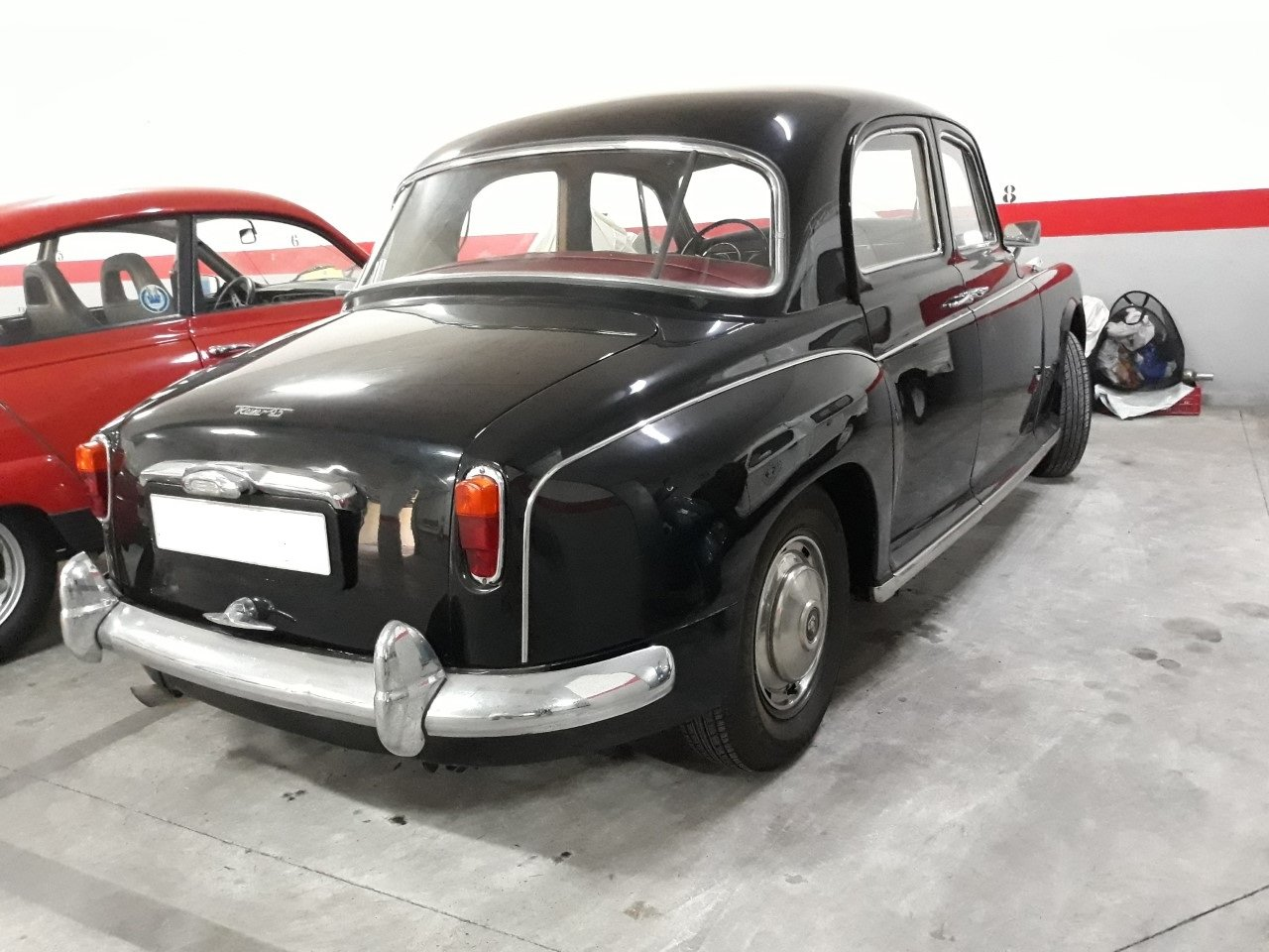 1962 LHD - Rover P4 95 - 2.6L - Only 50.000km. For Sale (picture 3 of 6)