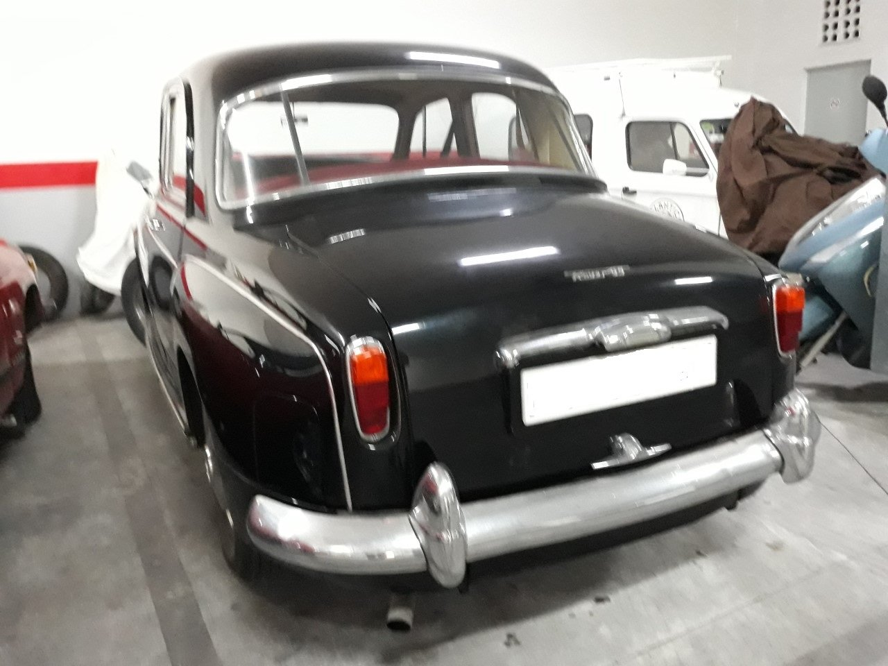 1962 LHD - Rover P4 95 - 2.6L - Only 50.000km. For Sale (picture 4 of 6)