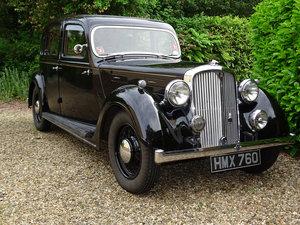 1938 Rover P2 16 Saloon