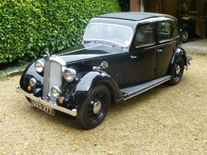 1937  Rover P2 - 12 at ACA 24th August