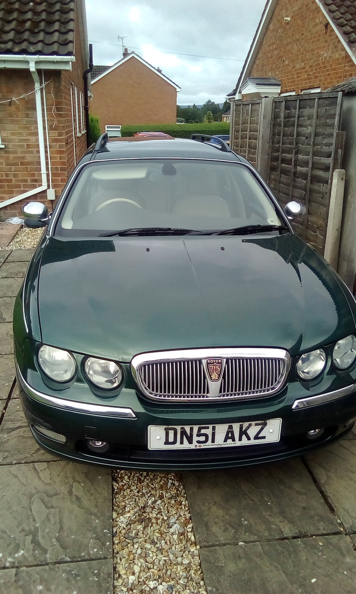 2002 Rover 75 Potential future classic car. For Sale (picture 1 of 6)