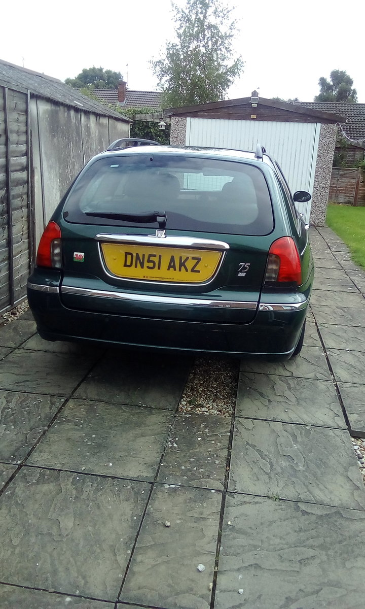 2002 Rover 75 Potential future classic car. For Sale (picture 2 of 6)