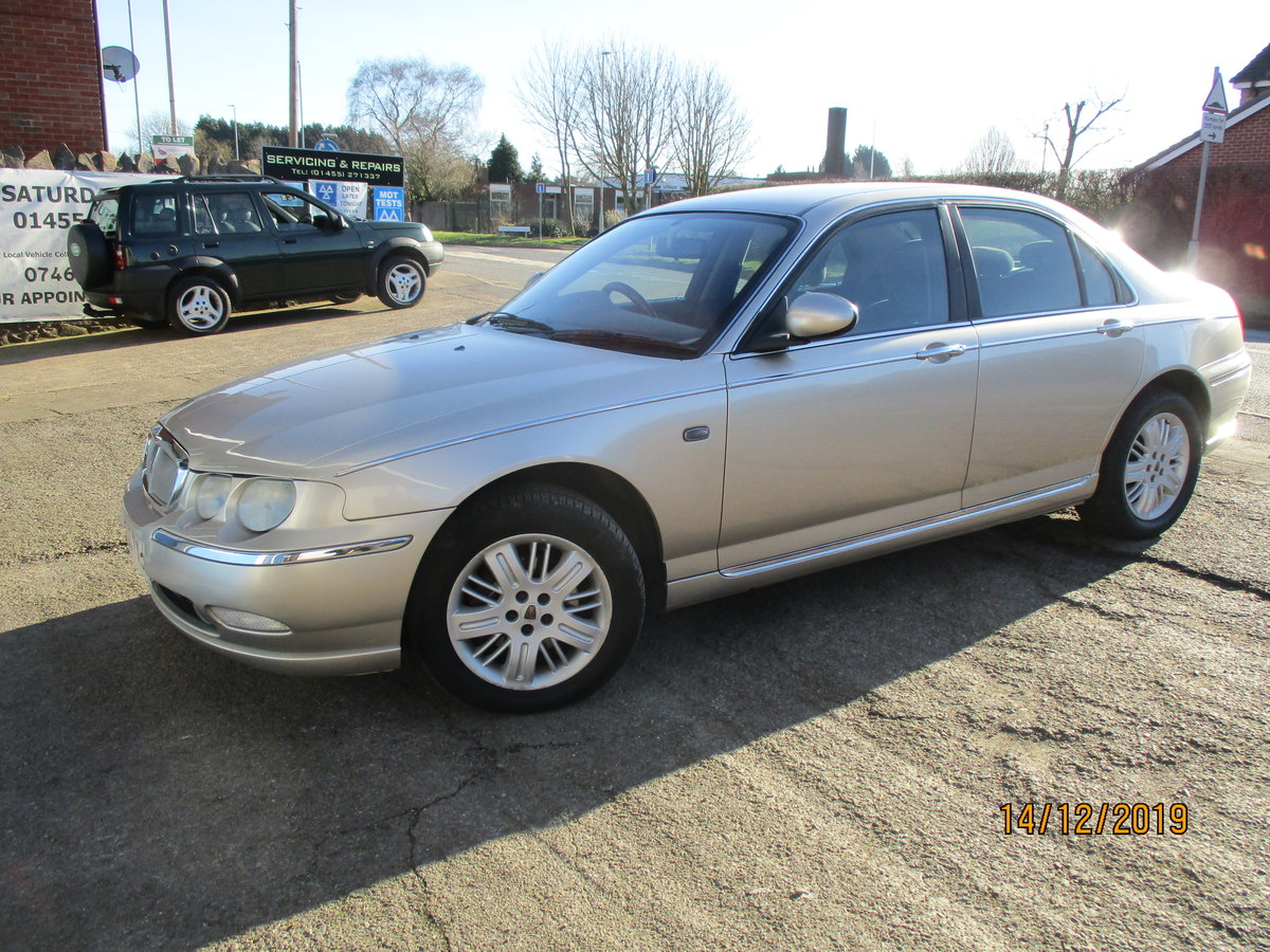 2003 SOUND OLD ROVER DIESEL 75 5 SPEED MANUL WITH A TOW BAR  For Sale (picture 1 of 6)